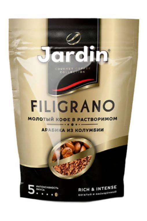 Кофе растворимый с молотым Jardin Filigrano 75г