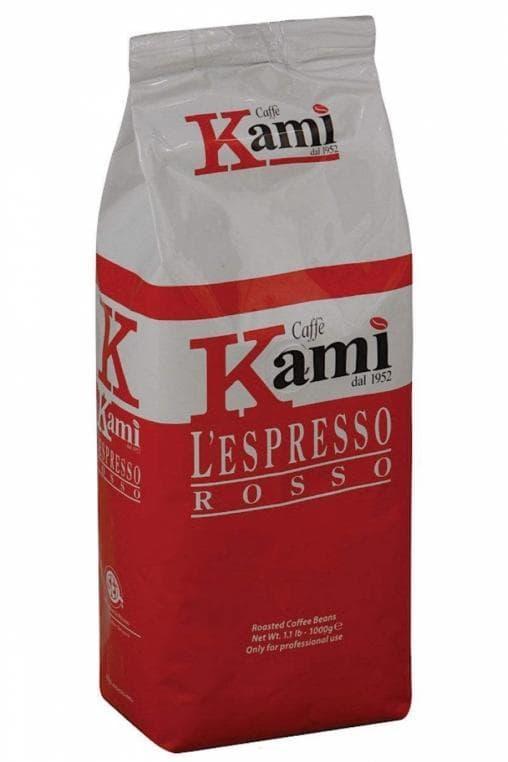 Кофе в зернах Kami ROSSO 1000 г (1 кг)