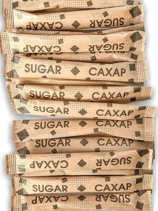 Сахар порционный в стиках 5 г х2000 шт.