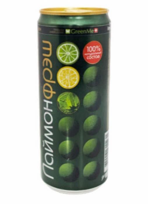 Газированный напиток Laimon Fresh 330мл банка