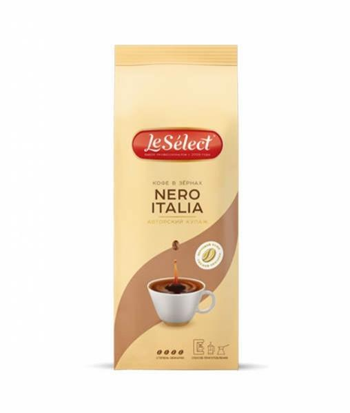 Кофе в зернах LeSelect Nero Italia 1000 г (1кг)