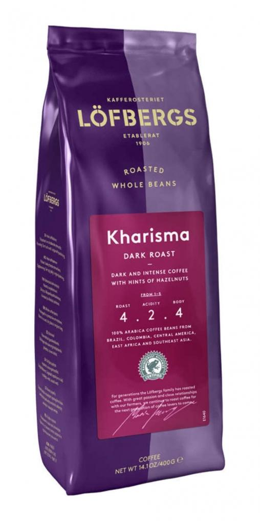 Кофе в зернах Lofbergs Kharisma 400 г (0.4 кг)