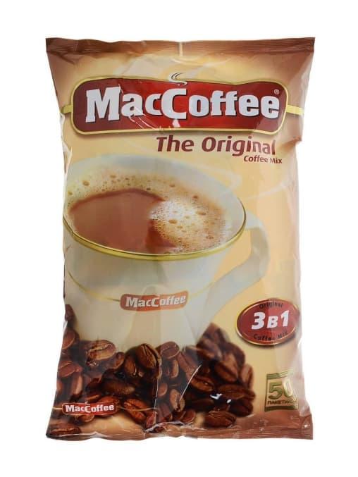 Кофе растворимый 3в1 MacCoffee Original 20г