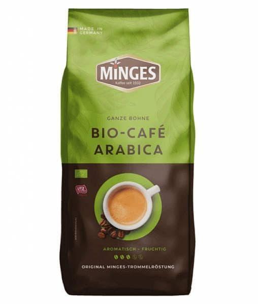 Кофе в зернах Minges Bio Cafe Arabica 1000 г (1 кг)