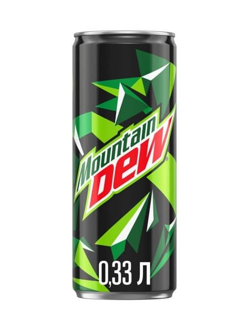 Маунтин Дью Mountain Dew 330мл ж/б