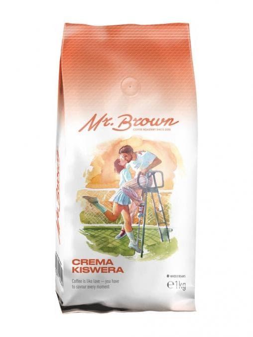 Кофе в зернах MrBrown Crema Kiswera 1000 г (1кг)