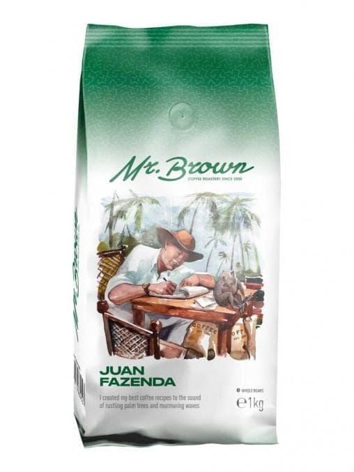 Кофе в зернах MrBrown Juan Fazenda 1000 г (1кг)
