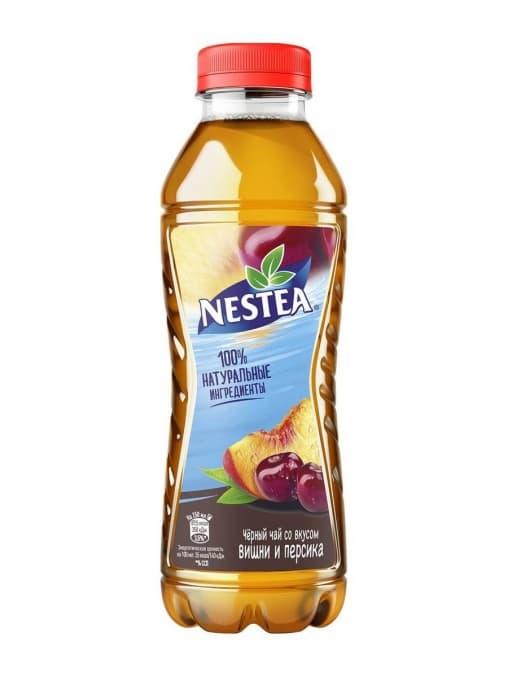 Чай Nestea Вишня и Персик 500мл ПЭТ
