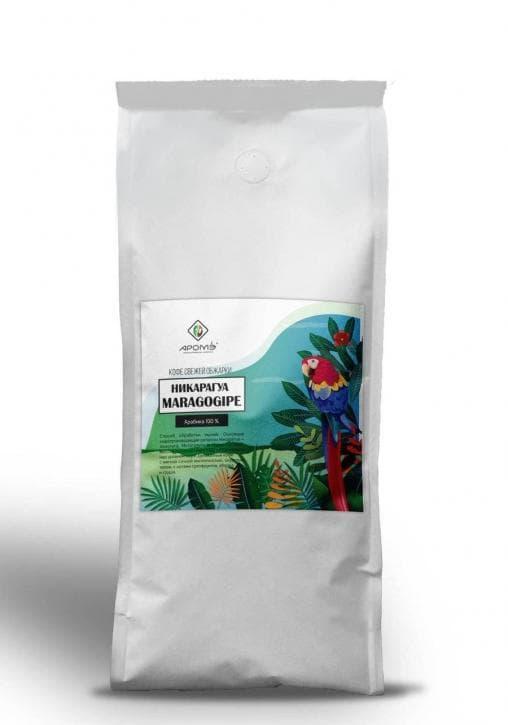 Кофе в зернах Никарагуа Марагоджип 500 г (0,5 кг)