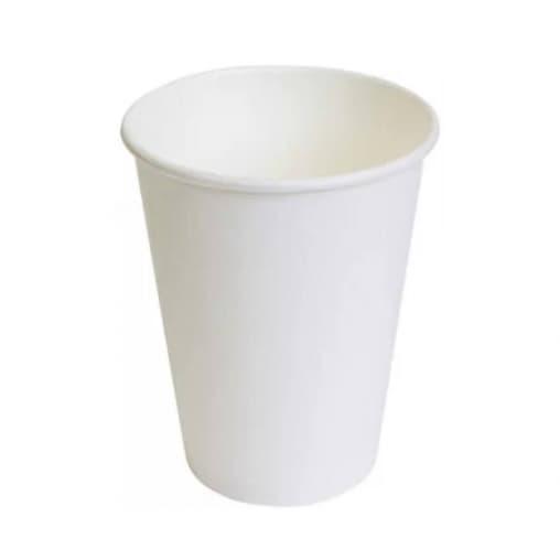 Бумажный стакан Белый d=90 300мл