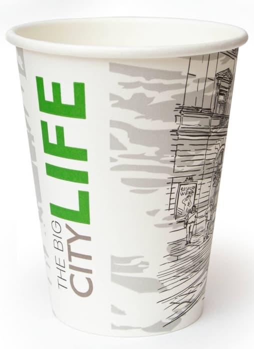 Бумажный стакан Big City Life d=90 300мл