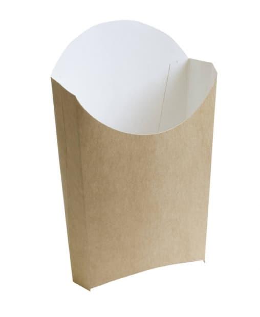 Коробка для Фри большая Крафт 34*90*125 мм
