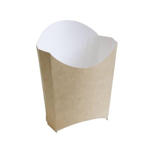 Коробка для Фри малая Крафт 32*68*100 мм