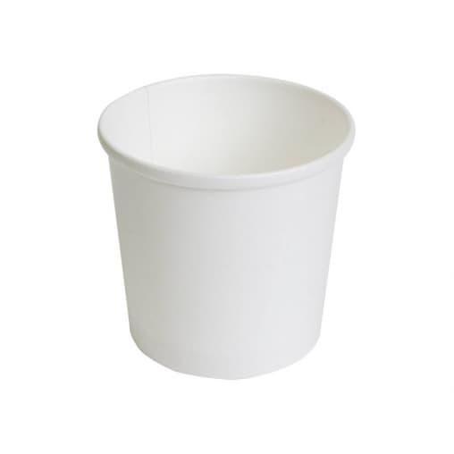 Контейнер бумажный круглый Белый d=90 300мл