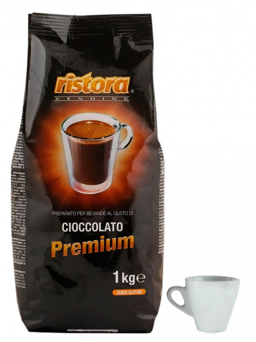 Шоколад Ristora Cioccolato Premium для вендинга 1000 гр