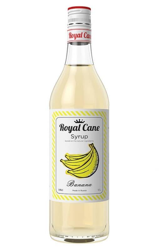 Сироп Royal Cane Banana Банан стекло 1000 мл