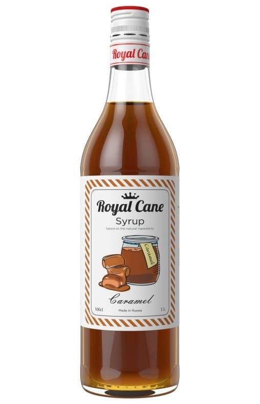 Сироп Royal Cane Caramel Карамель стекло 1000 мл