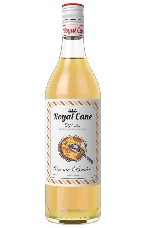 Сироп Royal Cane Creme Brulee Крем Брюле 1000 мл ПЭТ