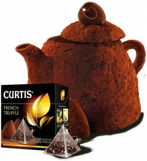 Чай черный Curtis French Truffle аром. в пирамидках (20 х 1,8г)