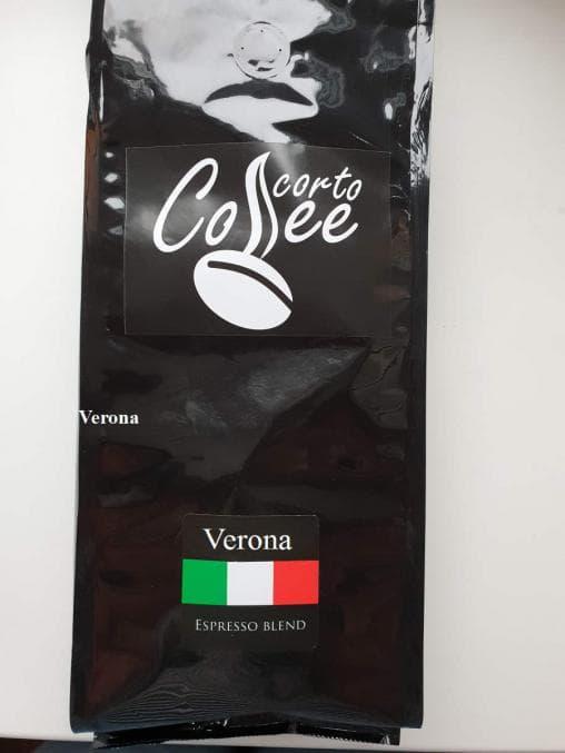 Кофе в зернах Corto Coffee Verona 1000 г