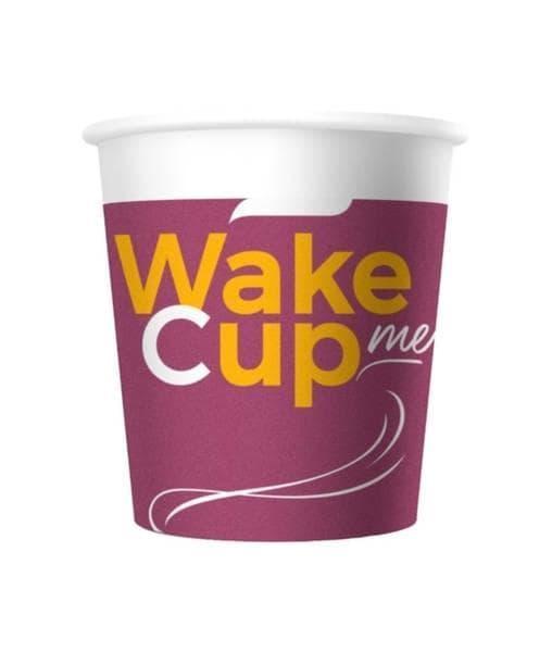 Бумажный стакан Wake Me Cup d=62 100мл