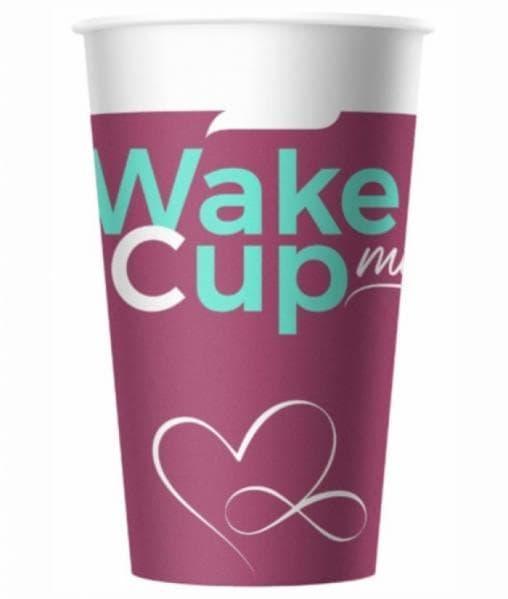 Бумажный стакан Wake Me Cup d=90 400мл