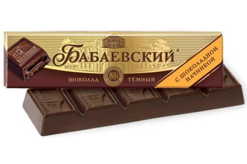 Батончик Бабаевский с шоколадной начинкой 50 г