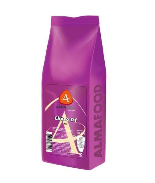 Шоколад Almafood Choco Rich в гранулах 1000 гр