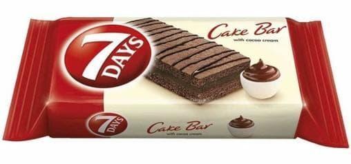 Бисквит 7 Days Cake Bar КАКАО 30г х5