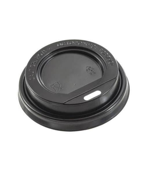 Крышка для стакана (100 шт) Черная ∅ 71