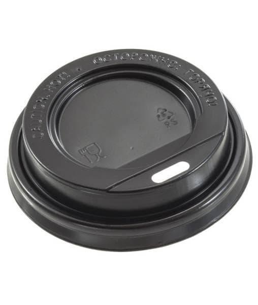 Крышка для стакана (100 шт) Черная ∅ 89
