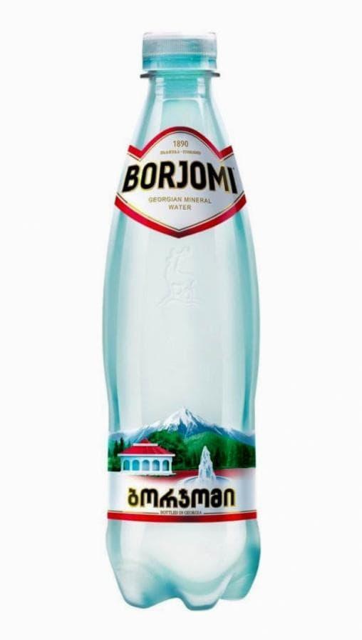 Боржоми минеральная вода Borjomi пластик 500мл