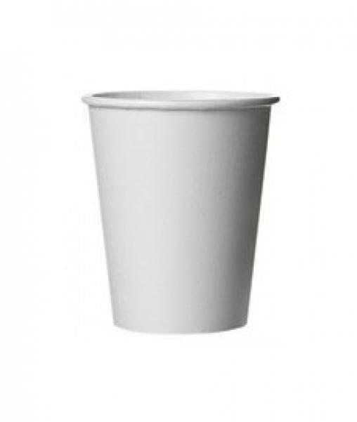 Бумажный стакан Белый (100 шт) d=62 100мл