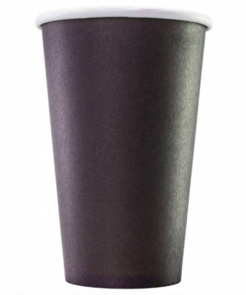 Бумажный стакан Чёрный d=80 300мл