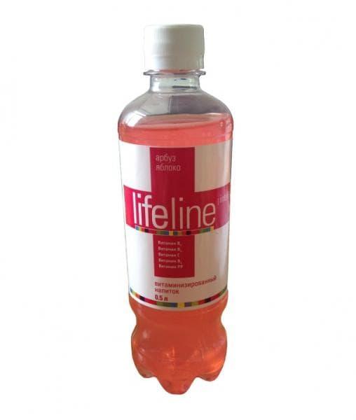 Тонизирующая вода LifeLineINTELLECTUAL Арбуз Яблоко 500мл ПЭТ
