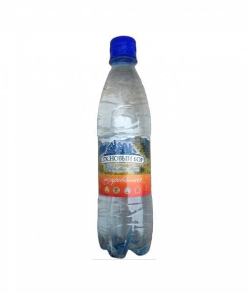 Минеральная вода Сосновый Бор Газированная 500 мл ПЭТ
