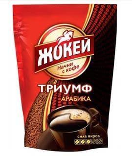 Кофе Жокей Триумф растворимый сублимированный 280г