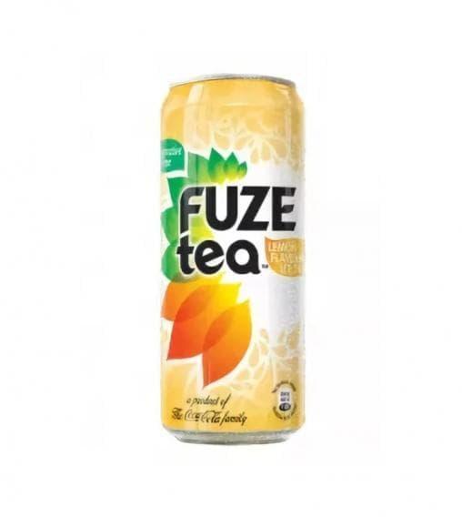 Чай FuzeTea черный чай Лимон 330 мл банка