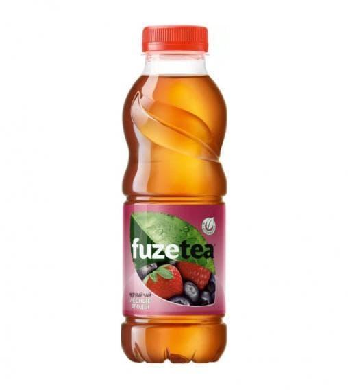 Чай FuzeTea черный чай Лесные ягоды 500 мл ПЭТ