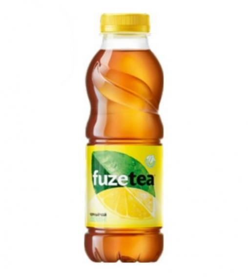 Чай FuzeTea черный чай Лимон 500 мл ПЭТ