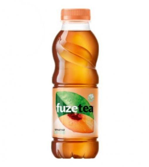 Чай FuzeTea черный чай Персик 500 мл ПЭТ