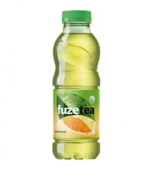 Чай FuzeTea зеленый чай Цитрус 500 мл ПЭТ