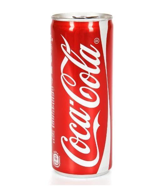 Кока-кола 330мл банка Coca Cola 0.33