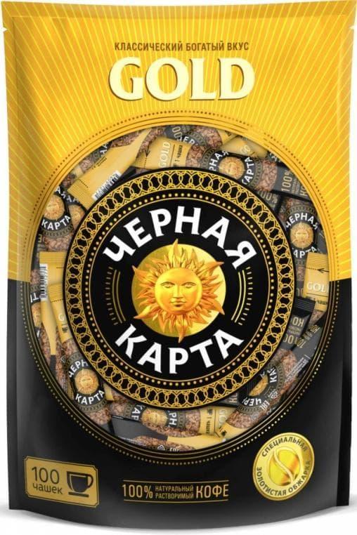 Кофе растворимый в стике Черная Карта Gold 2г