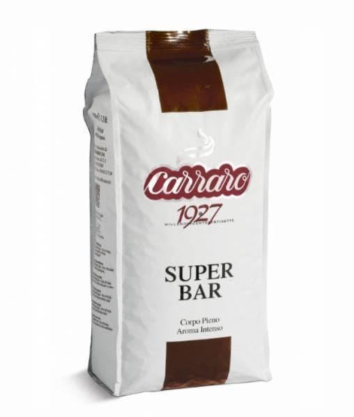 Кофе зерновой Carraro Super Bar 1000 г (1 кг)