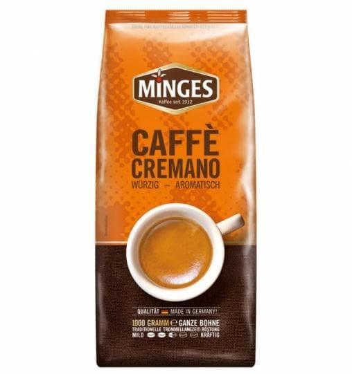 Кофе в зернах Minges Cafe Cremano 1000 г (1 кг)