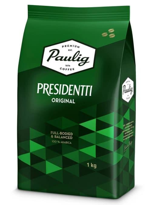 Кофе в зернах Paulig Presidentti Original 1000 г