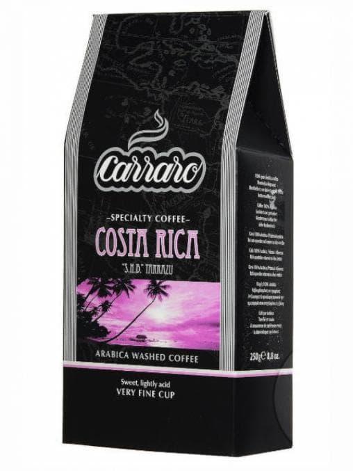 Кофе молотый Carraro Моносорт Арабика Costa-Rica 62.5 г