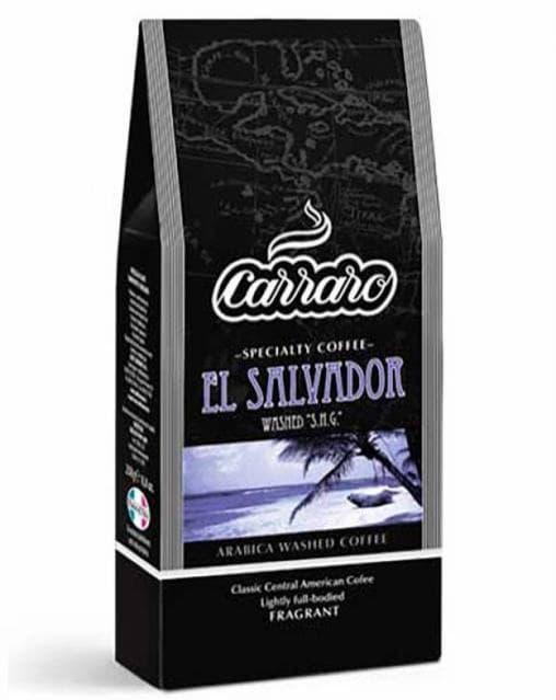 Кофе молотый Carraro моносорт Арабика El Salvador 62.5 г