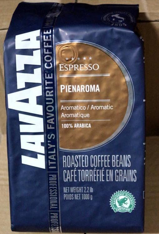 Кофе в зернах Lavazza Pienaroma 1000 гр (1кг)
